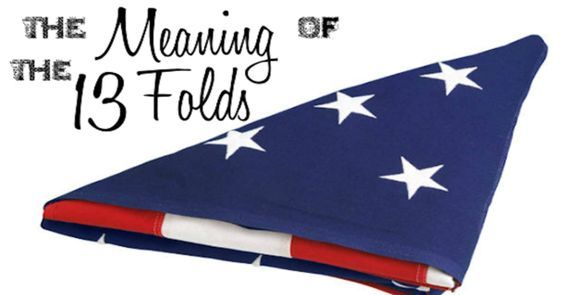Do You Know The Reason Behind The Flag Folding The United States Flag Is Folded 13 Times Because United States Flag Folded Flag Flag Etiquette