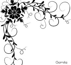 Simple Flower Border Designs For School Projects Google