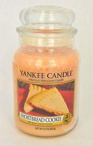 Bougie Grande Jarre Yankee Candle Shortbread Cookie Large JAR Exclu US | eBay