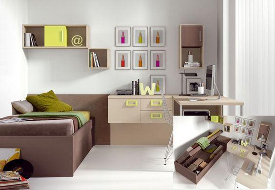 dormitorio juvenil moderno decorarinteriores.biz