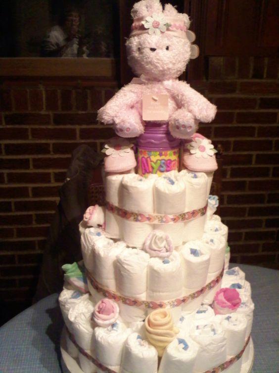 Diaper Cake :)