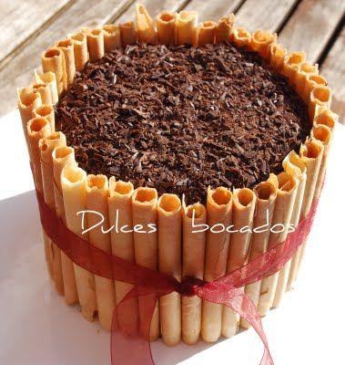 Dulces bocados: Tarta de chocolate