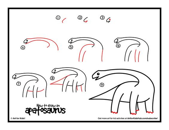 how to draw a triceratops head