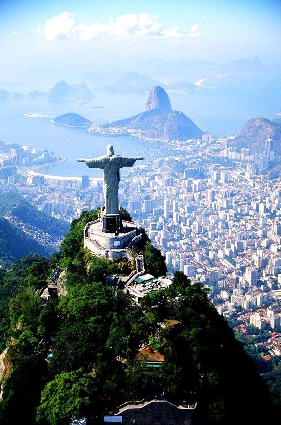 Dire bonjour à Rio I #Bresil I: