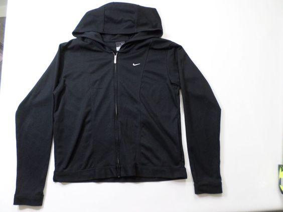 womens nike hoodie black