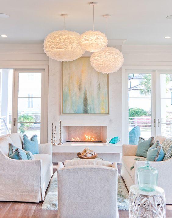 coastal living room | Dove Studio:
