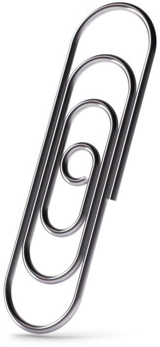 Skrepkus paper clip: designer Anton Schnaider