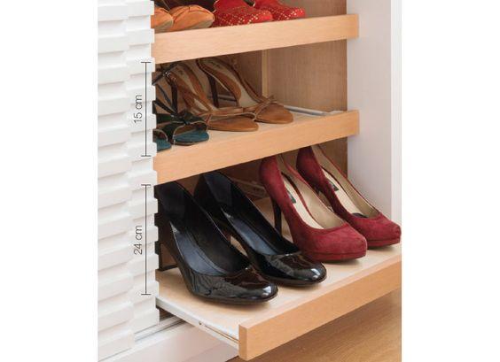 10 soluções para organizar seus sapatos - Casa