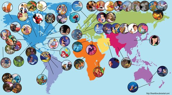 NORTH AMERICA: Kenai [as a bear], Koda, Bambi, Thumper, Wilbur, Lewis, Copper, Todd, Chicken Little, Bob [as Mr. Incredible], Rex, Woody, Zurg, Buzz Lightyear, Alien, Bullseye, Slinky, Dodger, Oliver, Ichabod, Tramp, Lady, Pocahontas, John Smith [feat. Meeko, Flit & Percy], Dumbo, Timothy, Miss Bianca, Bernard [also in Australia], Tiana [feat. Naveen as a frog], Flik, Maggie, Pearl, Mrs. Calloway, Grace, Lightning McQueen, Mater, Joy, Wreck-It Ralph… (to be continued in comments)