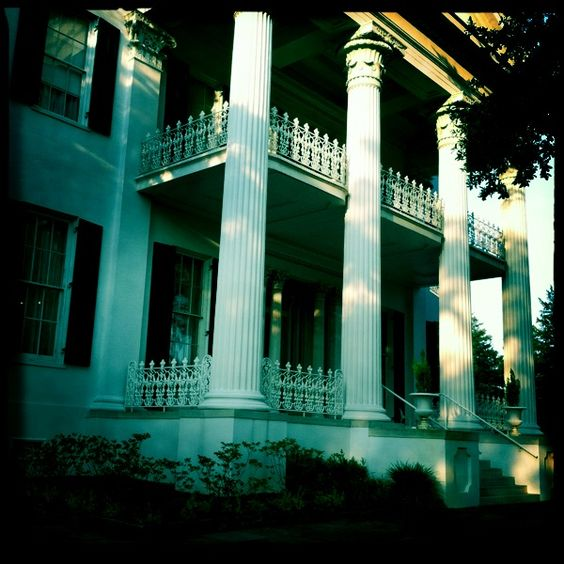 Plantation homes columns and porches on pinterest for Plantation columns