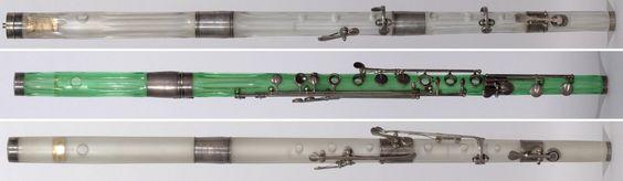 Crystal flutes (Laurent, 1806-1844)