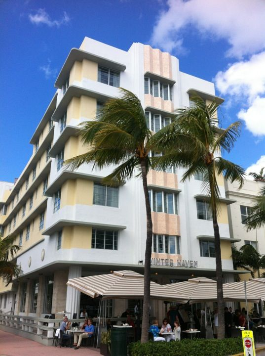 Winterhaven Hotel: Located on a quiet corner steps from the beach at 1400 Ocean Drive, this is a heavenly hideaway where architecture is the star. #Miami #Hotels