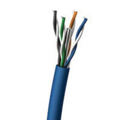 1000' Cat 6 Pvc Cable Blue