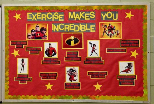 Bulletin boards, Exercise and Video games on Pinterest