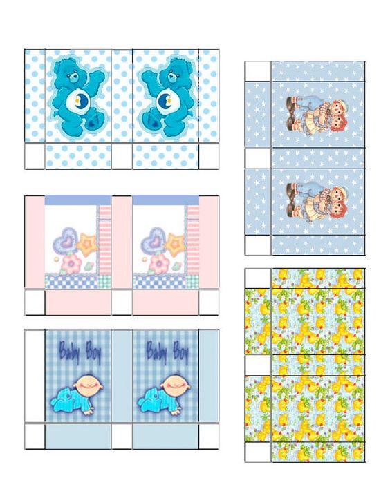 Jennifer's Dollhouse Printables Gift Bags Baby