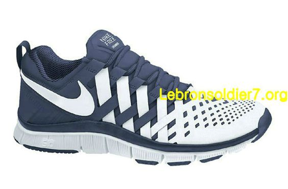 Nike Free Trainer 5.0 Chaussures De Course Bleu Marine