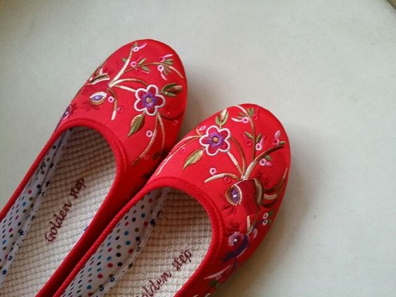1 June 2014 embroidered shoes for friend's wedding 116/#365