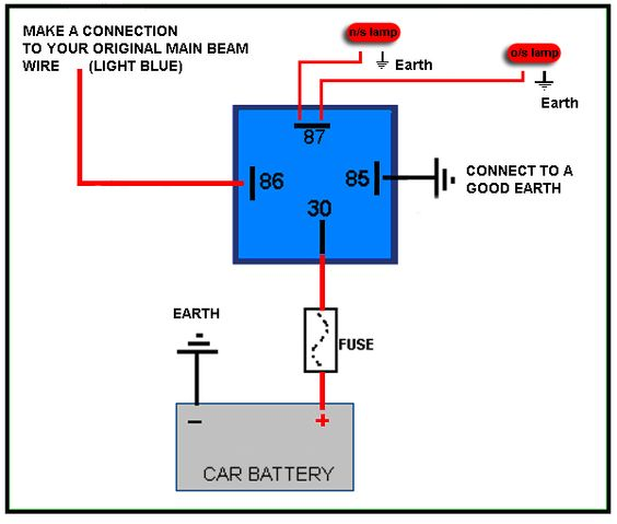 c4d3773512472bf9e894733f478d5273 car stuff charts 4 pin relay wiring diagram diagram pinterest relay wiring diagram at soozxer.org