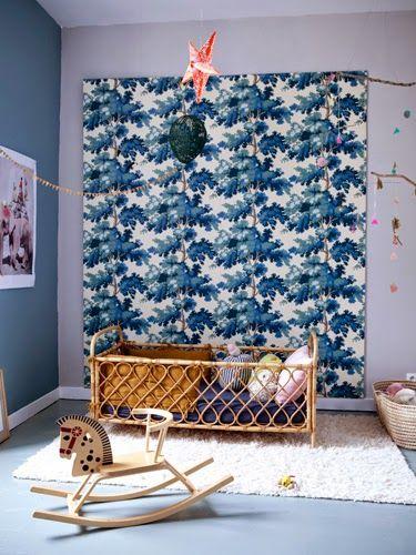 Sandberg Raphael wallpaper le cheval à bascule vintage est à vendre ...
