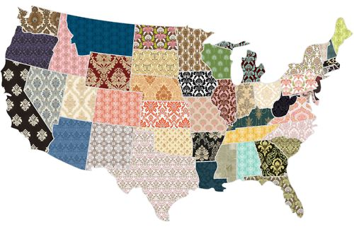 patchwork map