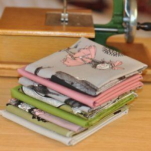 FQ Bundle Cottons: The Ghastlies, 8 fabrics