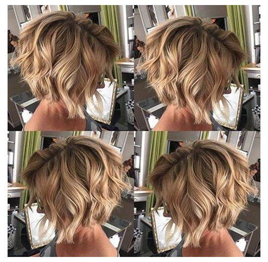 48 Best Short Hairstyles For Thick Hair 2020 2020 1 Trendy Fohawk The Ultimate Hairstyle For T In 2020 Haircuts For Wavy Hair Wavy Bob Hairstyles Thick Hair Styles