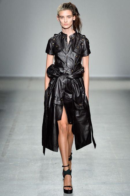 @roressclothes clothing ideas #women fashion black trench coat