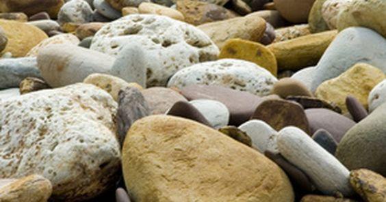 Cómo pintar rocas realistas