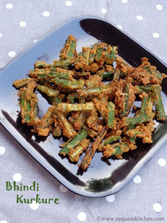Bhindi kurkure