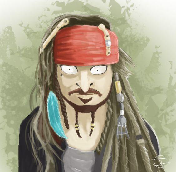 Inspiration Jack Sparrow by jlcreat.deviantart.com on @DeviantArt
