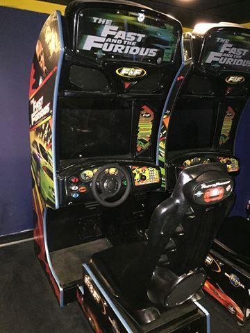 cave arcade machine