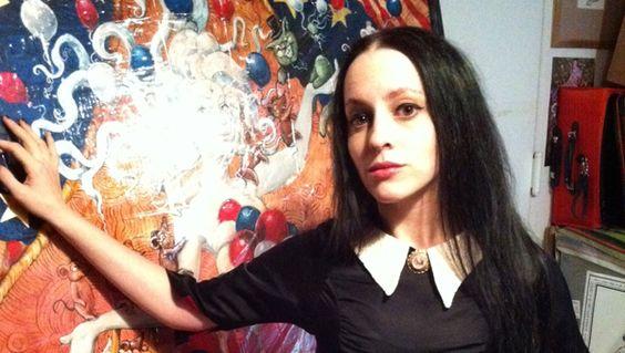 Dear Diary: Molly Crabapple - http://art-nerd.com/newyork/dear-diary-molly-crabapple/