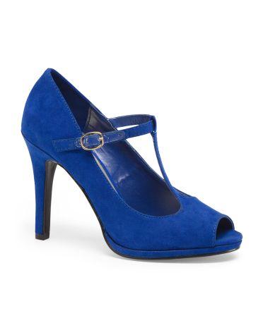 El Dorado High Peeptoe Heels-I Like it!