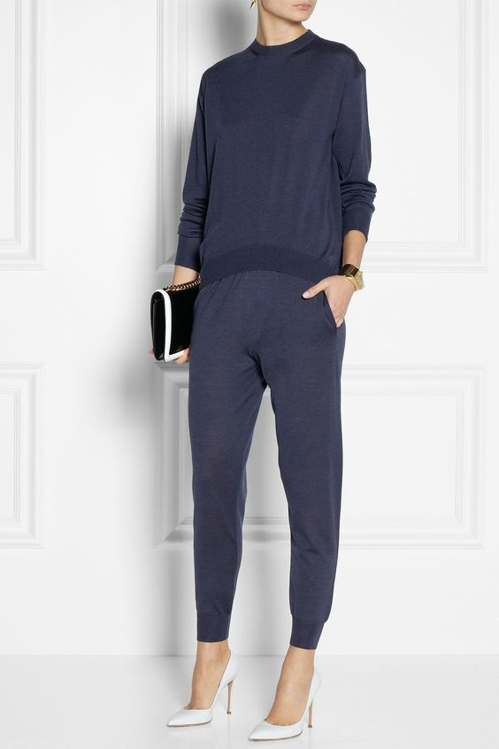 Stella McCartney | Wool and silk-blend sweater | NET-A-PORTER.COM