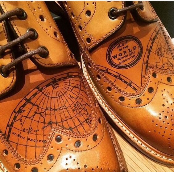 Tattooed brogues - Oliver Sweeney - London www.oliversweeney.com