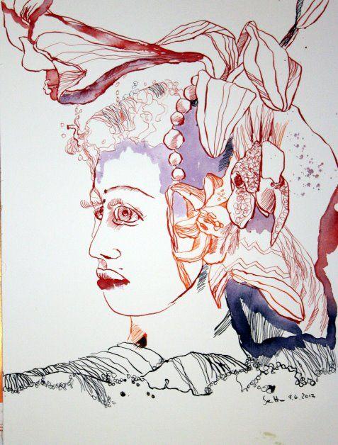 Lily Woman  www.susannehaun.com