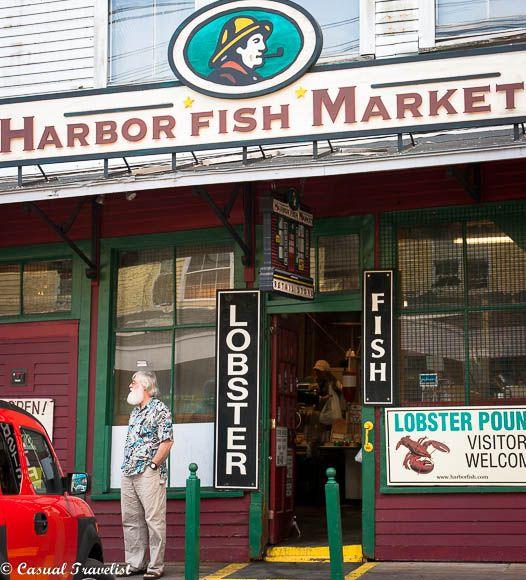 Portland maine blog and magazines on pinterest for Fish market portland maine