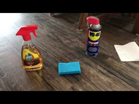 How To Remove Scratches Out Of Your Vinyl Tile Floor Youtube Cleaning Vinyl Plank Flooring Vinyl Tile Flooring Vinyl Wood Flooring