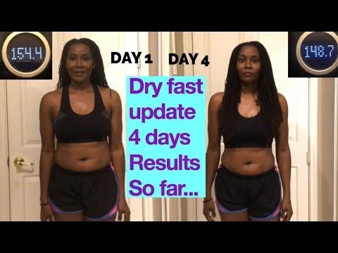 Dry Fasting Results Update 4 Days Body Transformation On A 10 Day