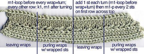 Unusual Knitting Techniques : Loads of unusual knitting techniques expertly explained