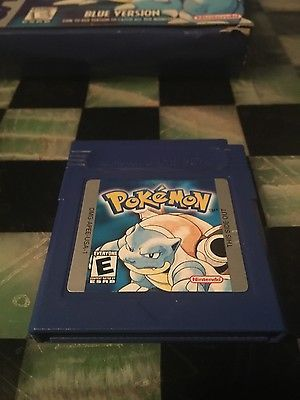 Pokemon Blue (Nintendo Game Boy Color, 1999) - US Version