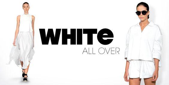 WHITE ALL OVER- so wird der Trend gekonnt getragen!