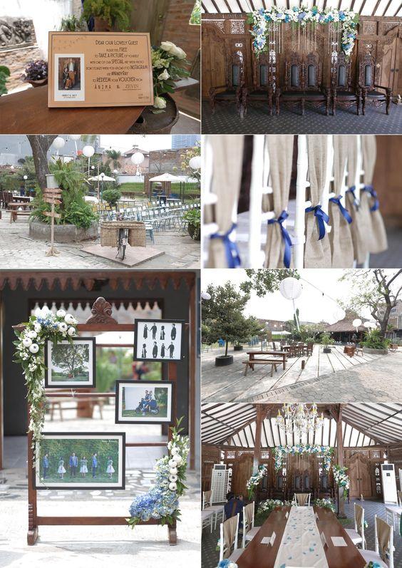 Puri camping tmii wedding invitations