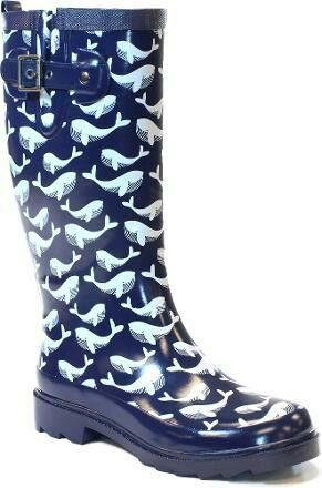 Rain boots, Whales and Rain on Pinterest