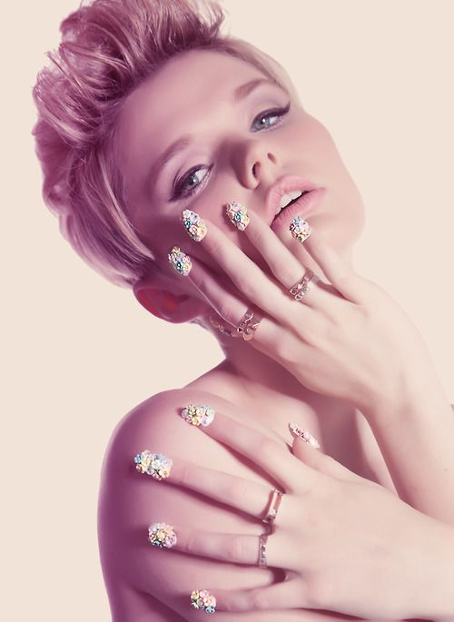 NAIL SWAG SHOOT shot by Bri Ro Photo (brirophoto.tumblr.com) Make up and hair by Lindsey Martins and Lindsay Julian Lighting by Luke Lovell.Jewelry provided by Han Cholo NAILS BY MOI 3  THE MARIE ANTOINETTE NAILS