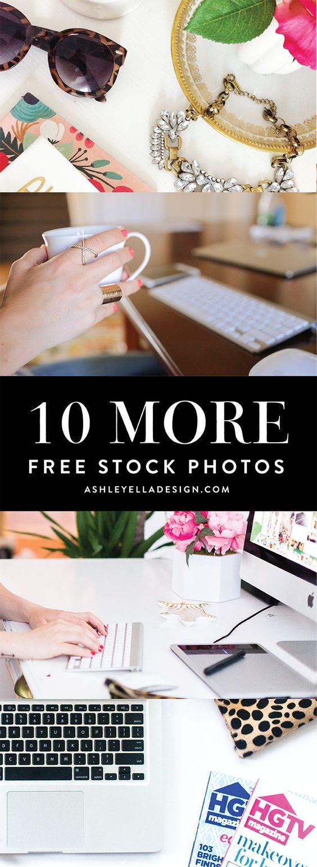 10 MORE Free Stock Photos from Ashley Ella Design