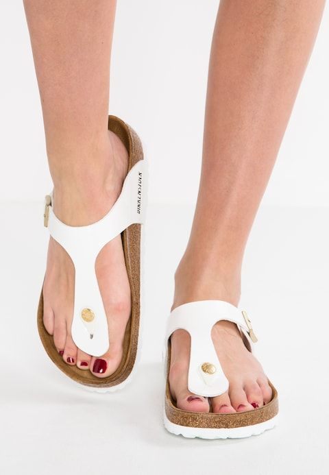 separation shoes 4bc98 d6f98 GIZEH - Infradito - white | Birkenstock in 2019 ...