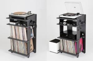 meuble pour lecteur vinyl