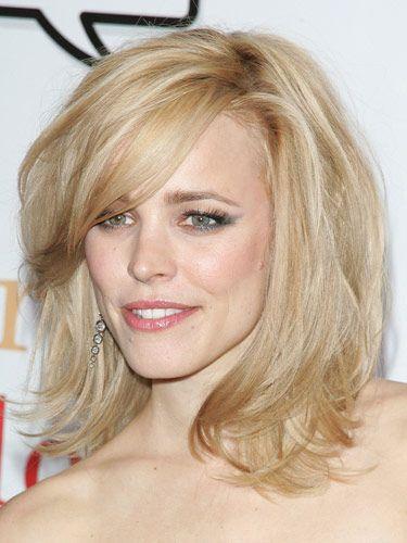 Photos of medium celebrity hairstyles - Hairfinder