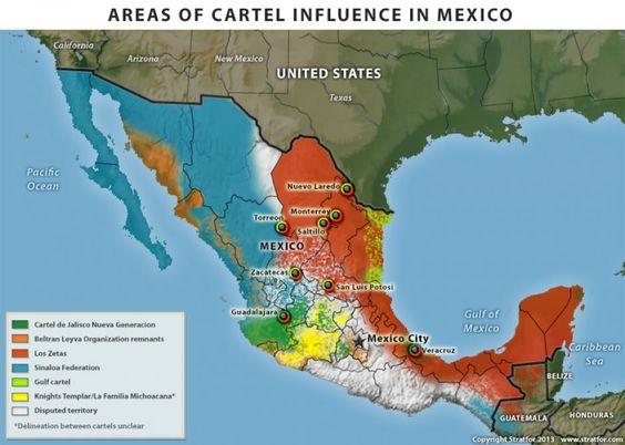 Guerra contra las drogas de México: balcanización lleva a desafíos regionales | Stratfor